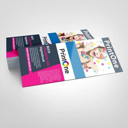 Bild von Flyer Einseitig  DIN-A6 Halb