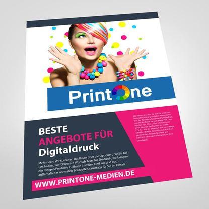 Bild von Flyer Einseitig    DIN-A6