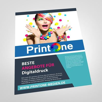 Bild von Flyer Einseitig    DIN-A4