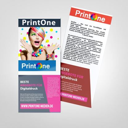 Picture of Flyer Beidseitig 1/3 DIN-A4