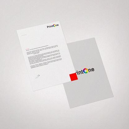 BEIDSEITIG  Briefpapier, DIN-Lang