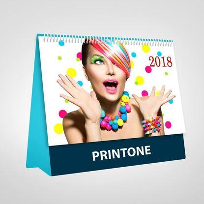 Bild von Mehrseitige Tischkalender, DIN-A4 Halb