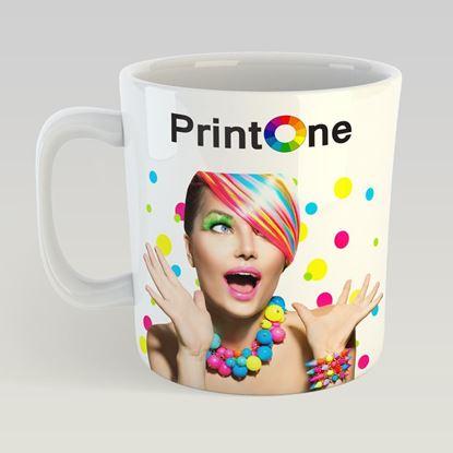 Bild von Tassen Druck - Weiße Tasse