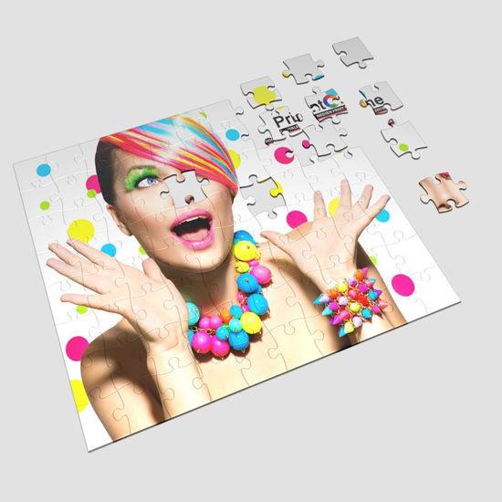 Bild von puzzle Druck