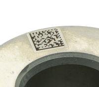 Bild von Laserkennzeichnung