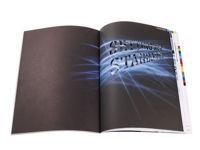 Bild von Laserbearbeitung von Papier im Digitaldruck