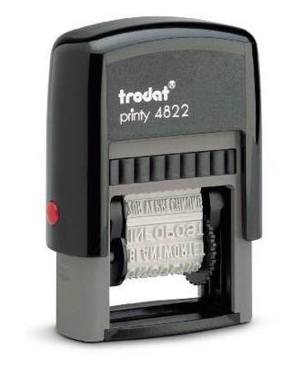 Bild von TRODAT Wortbandstempel 4822