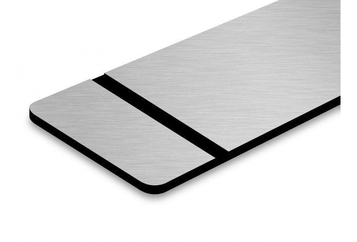 Silber Metallic/Schwarz