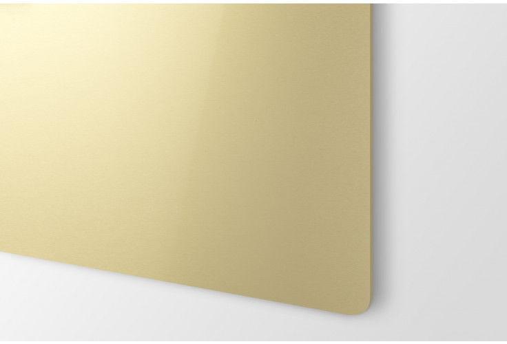 Gold satiniert